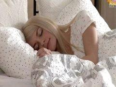 Petite blonde teen Elena...