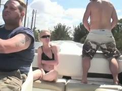 Lascivious blonde bombshell scarlett summers outdoor fucking adventure