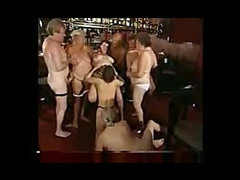 Chubby mature swinging party