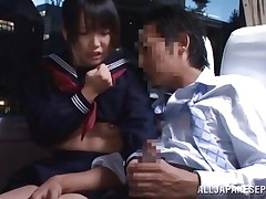 shameless blowjob in the bus
