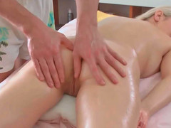 Petra receiving hot erotic massage while also being deeply toyed