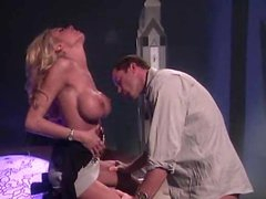Oral action with blazing hot Briana Banks