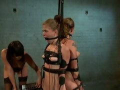 Raging Bobbi Starr tortures those slutty tarts