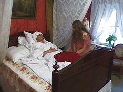 Russian nurse sex treatment