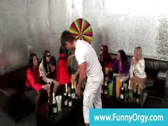 Nasty bday party games with rich posh babes