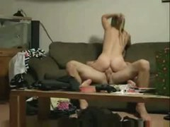 Amateur Couple Caught Fucking In College